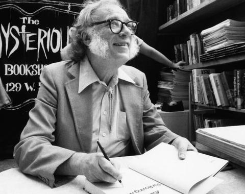 Isaac Asimov se fue hace 26 años
