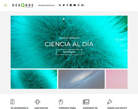 Web de la Fundación Descubre
