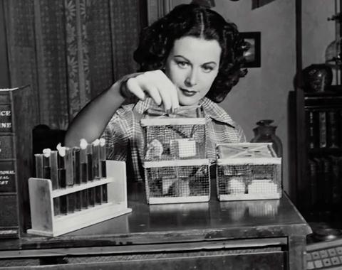 Hedy Lamarr: la científica que (también) fue actriz