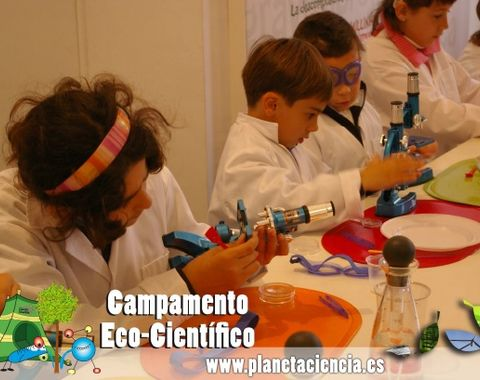 Campamento científico