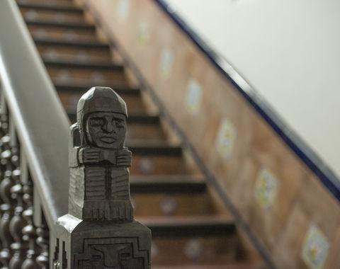 Detalle del Pabellón de Perú